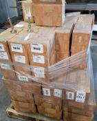 LOT - PALLET OF LEVELING FEET BASES
