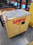 SECURALL 30-GALLON FLAMMABLE LIQUIDS STORAGE CABINET