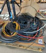 LOT - ELECTRIC WIRE, CONDUIT