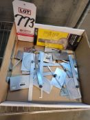 LOT - STARRETT AND MITUTOYO ANGLE GAGES
