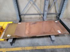 LOT - COPPER & BRASS PLATE AND SHEET