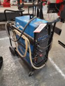 MILLER DYNASTY 350 TIG WELDER, PORTABLE, WATER-COOLED PACKAGE W/ FOOT CONTROL