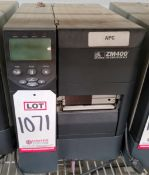 ZEBRA ZM400 LABEL PRINTER