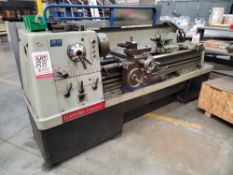 """CLAUSING COLCHESTER 17"""" X 60"""" LATHE, 11"""" 3-JAW CHUCK, TAILSTOCK, STEADY REST, COMES W/ WOOD CRATE OF"""