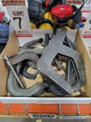 LOT - MISC CLAMPS
