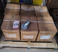 LOT - (6) CASES OF CASTERS, APPROX. 30/CASE