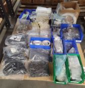 LOT - PALLET OF MISC HARDWARE ITEMS
