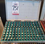 MEYER M3 CLASS Z-MINUS PIN GAGE SET, .501-.625