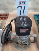 PORTER CABLE MODEL 75182 VARIABLE SPEED PLUNGE ROUTER