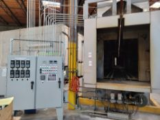 """7-STAGE STAINLESS STEEL WASH LINE, 52"""" X 60"""" PASS THROUGH OPENING, REVERSE OSMOSIS WASTEWATER TREATM"""