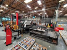 STATE OF THE ART AMADA SHEET METAL FABRICATION FACILITY & WORLD CLASS IWA GEMA POWDER COAT PAINT SYSTEMS
