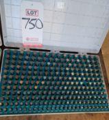 MEYER M2 CLASS Z-MINUS PIN GAGE SET, .251-.500