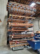 LOT - (16) PALLETS OF MISC SHEET ALUMINUM AND STEEL, ALSO ALUMINUM AND STEEL PLATE