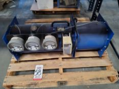 AIRFLOW MEASUREMENT SYSTEMS AIR FLOW TEST CHAMBER, 50 CFM, 220 VAC, S/N 21304