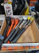 LOT - RUBBER HAMMERS