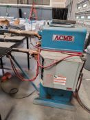 ACME 50 KVA SPOT WELDER, TYPE: 3-12-50, STYLE: AR, 460 V, CONTROL VOLTAGE: 115, S/N 12953, 22""