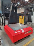 "AMADA VIRTEK FABRIVISION LASER QC 1200 LPS-1EA FLAT PART SCANNER, MAX PART THICKNESS 8"", 48"" X 48"""