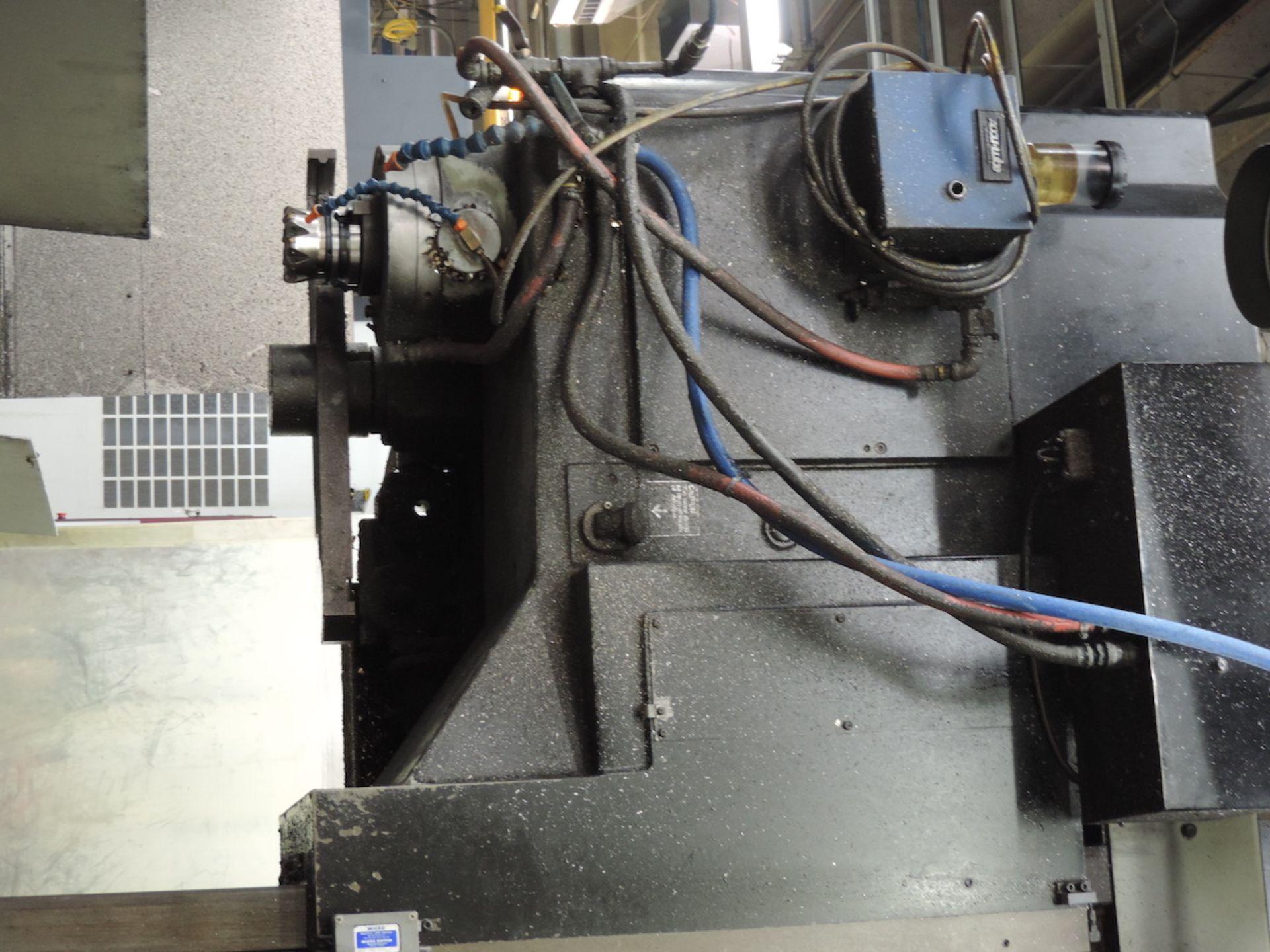 KURAKI KV-2000 KV-1600W VMC, FANUC 6M CONTROL, 3000 RPM, 50 TAPER SPINDLE, 24 ATC, XYZ TRAVELS: - Image 4 of 13