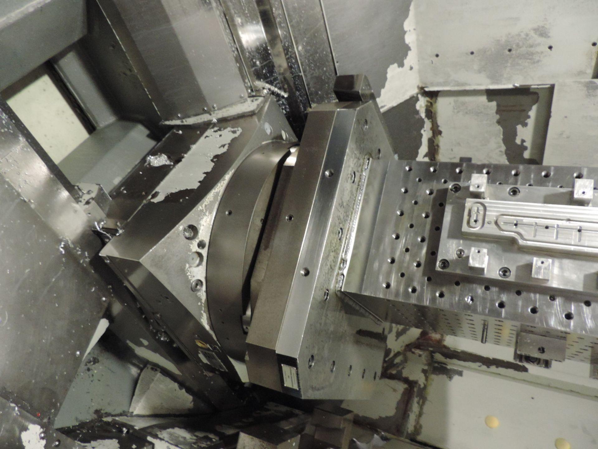 "2002 STARRAG & HECKERT CWK-630D HMC, GE FANUC 16i-M CONTROL, XYZ TRAVELS: 41"" X 39"" X 45"", 24.8"" X - Image 6 of 20"