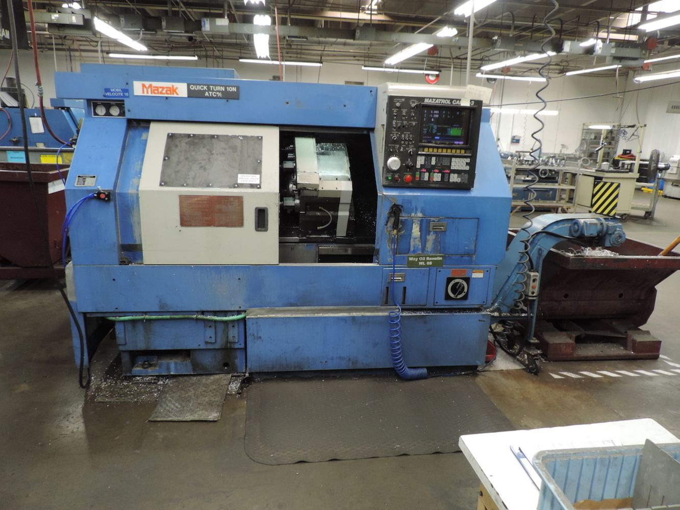 SURPLUS TO ONGOING NEEDS OF  KLUNE INDUSTRIES DIVISION OF PCC AEROSPACE