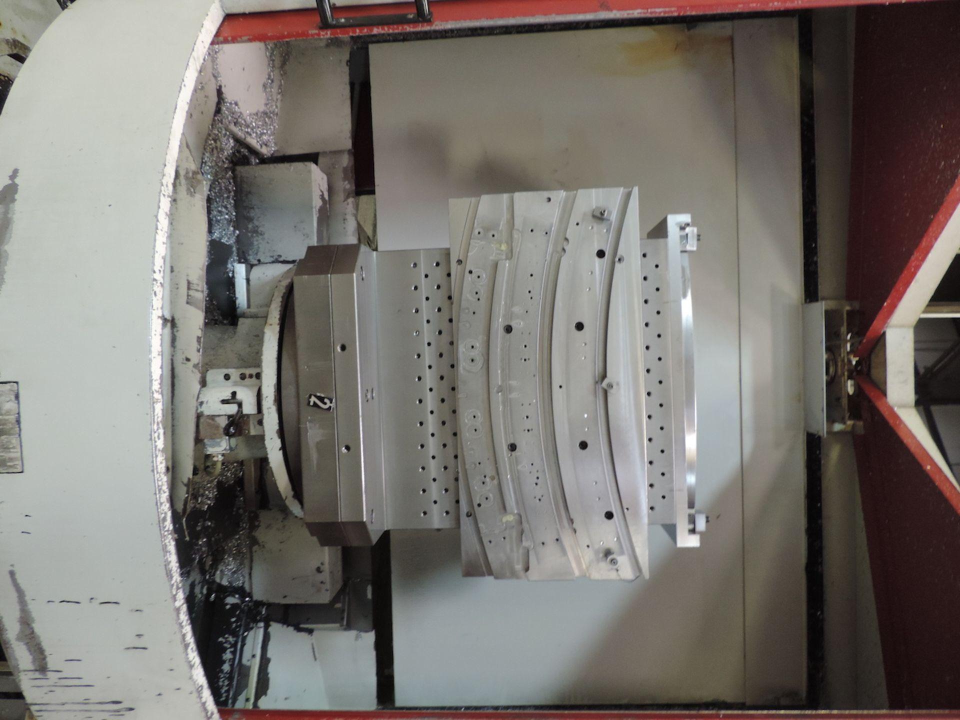 "2002 STARRAG & HECKERT CWK-630D HMC, GE FANUC 16i-M CONTROL, XYZ TRAVELS: 41"" X 39"" X 45"", 24.8"" X - Image 10 of 20"