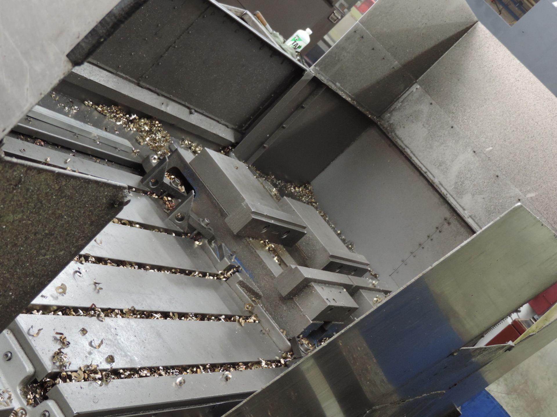 KURAKI KV-2000 KV-1600W VMC, FANUC 6M CONTROL, 3000 RPM, 50 TAPER SPINDLE, 24 ATC, XYZ TRAVELS: - Image 5 of 13