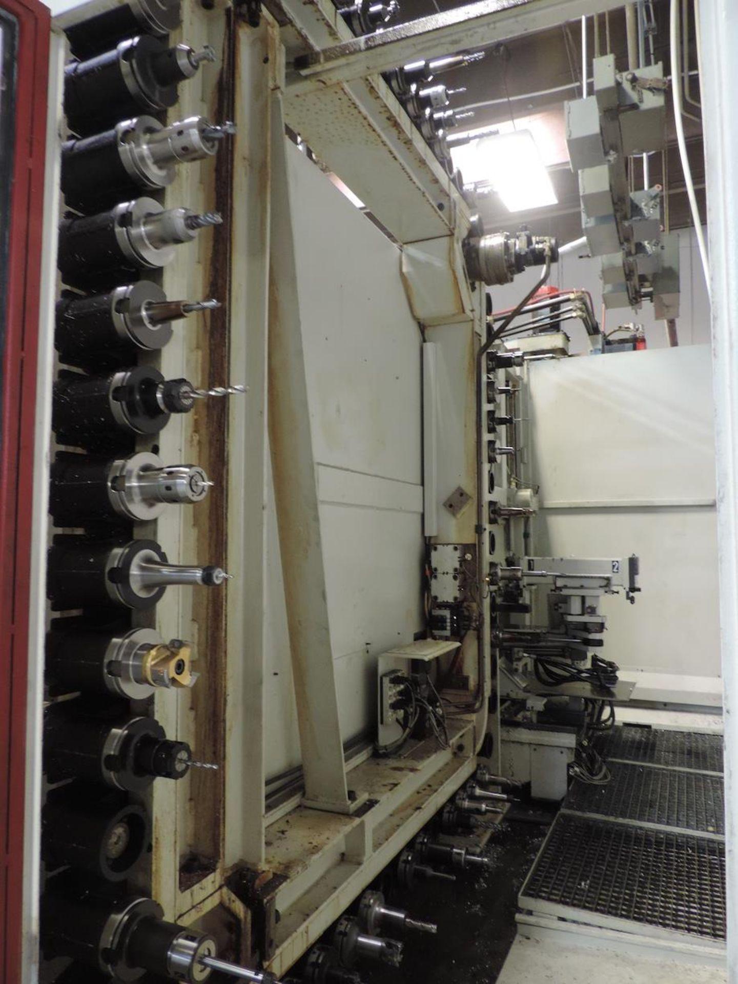"2002 STARRAG & HECKERT CWK-630D HMC, GE FANUC 16i-M CONTROL, XYZ TRAVELS: 41"" X 39"" X 45"", 24.8"" X - Image 18 of 20"