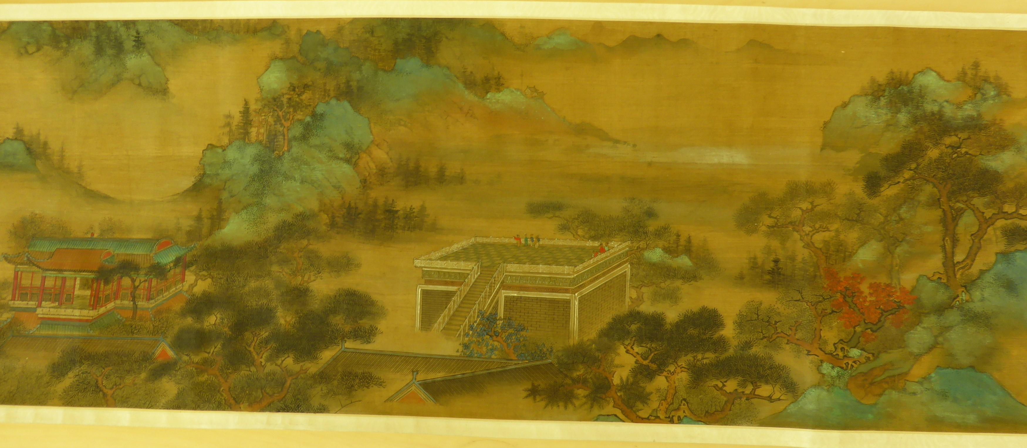 Lot 28 - WEN, ZHENGMING1470 - 1559THE MOUNTAINS OF THE IMMORTALS. Origin: China. Date: 19th-20th c. Maker/