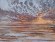 "BEZA1974 WarschauTitel: ""Wild sky"". Datierung: 2011. Technik: Acryl auf Leinwand. Maße: 100 x 130cm."