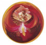 BISANG, IRENE1981 LuzernTitel: Pippiflower. Datierung: 2011. Technik: Acryl und Öl auf Holz. Maße: