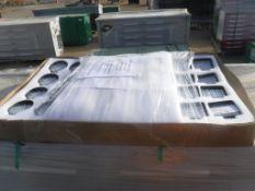 Box of Unused 2019 (16) 27 Watt LED Lights,