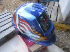 Unused 2020 Auto Darkening Welding Helmet.