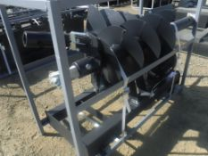 Unused 2020 JCT Hydraulic Auger Attachment,