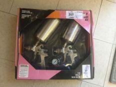Unused 2020 3-Piece HVLP Pneumatic Spray Gun Kit.