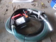 Unused 2020 Diesel Pump w/Nozzle,