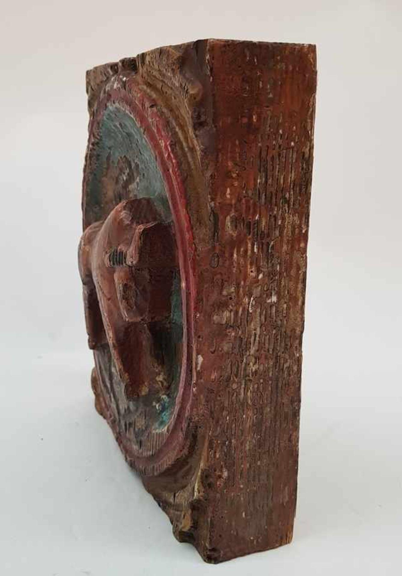 (Curiosa) Beeld hout stier - Bild 3 aus 4