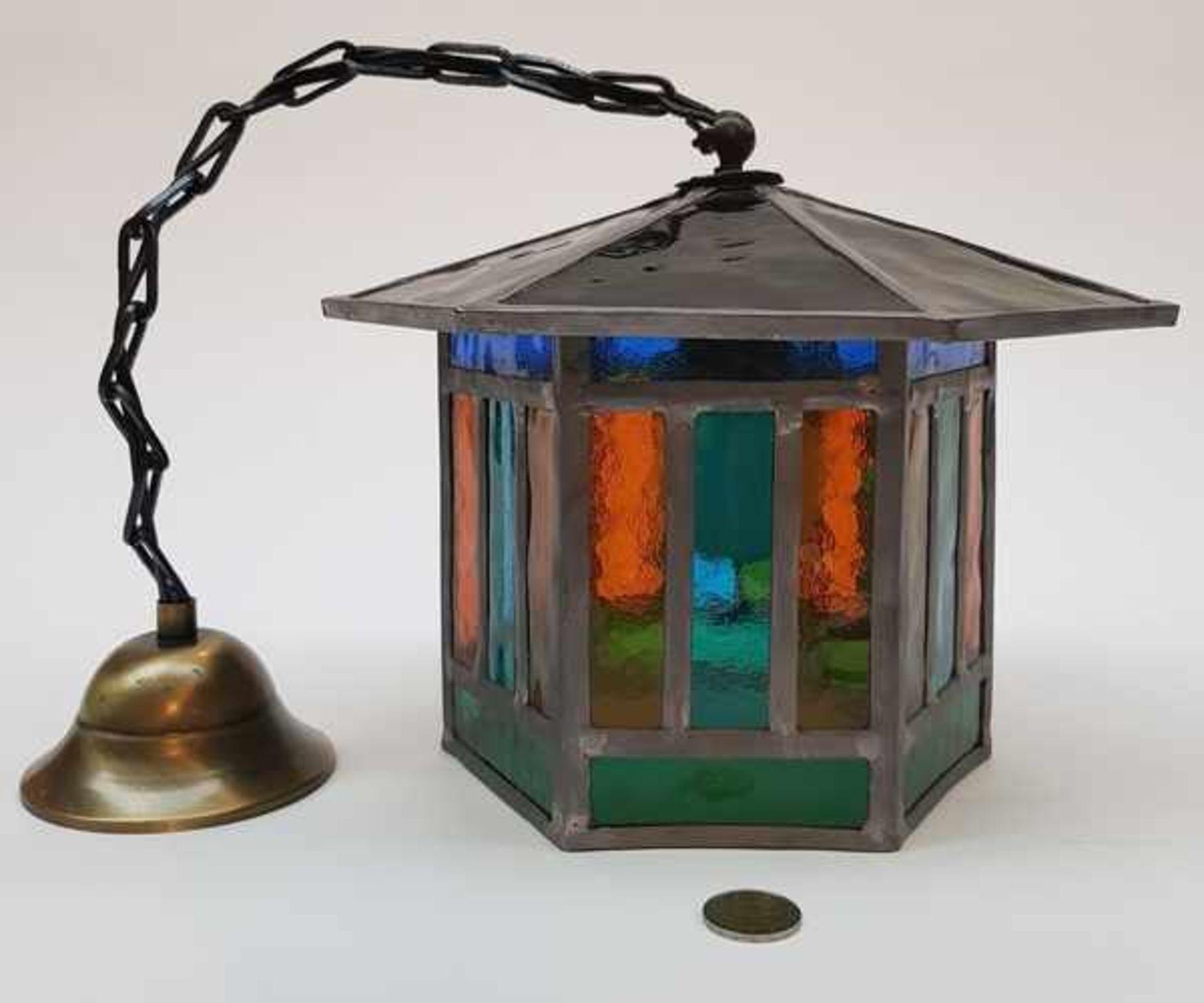 (Curiosa) Lamp glas in lood - Bild 4 aus 6