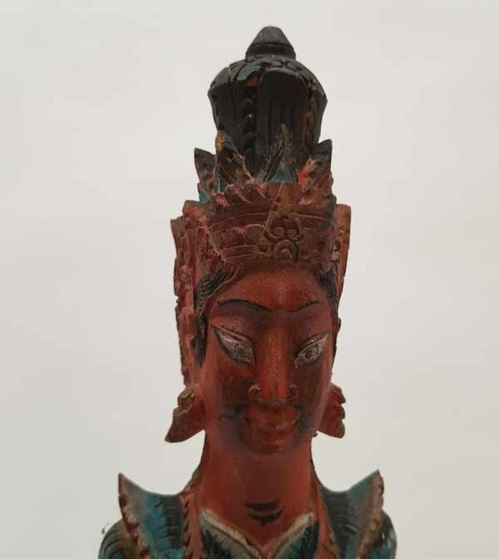 (Etnografica) Houten beelden en maskers, IndonesiÌÇ / Bali 20e eeuw<b - Bild 2 aus 4