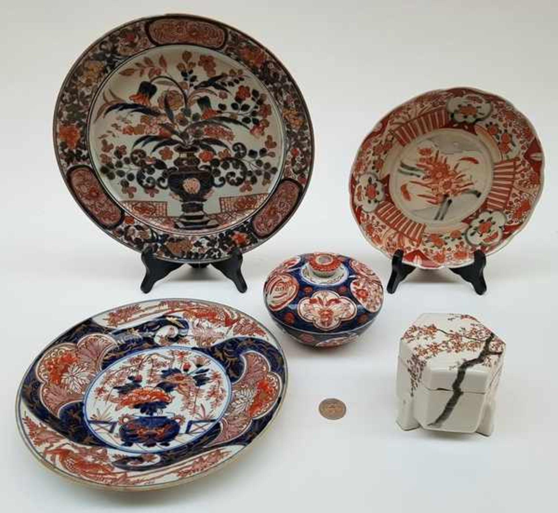 (Aziatica) Lot Imari porselein, Japan, 18e, 19e en 20e eeuw - Bild 2 aus 12