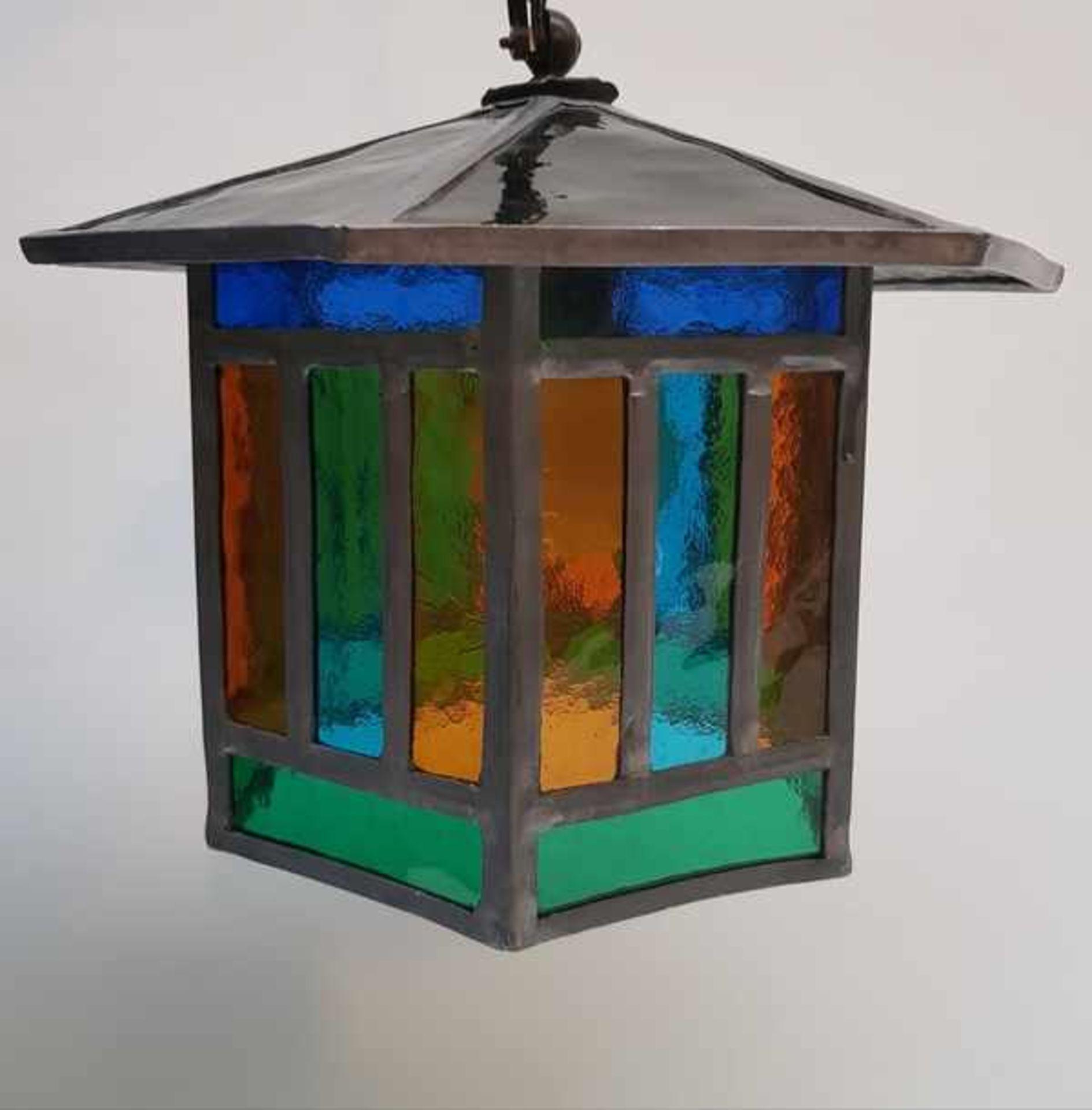 (Curiosa) Lamp glas in lood - Bild 2 aus 6