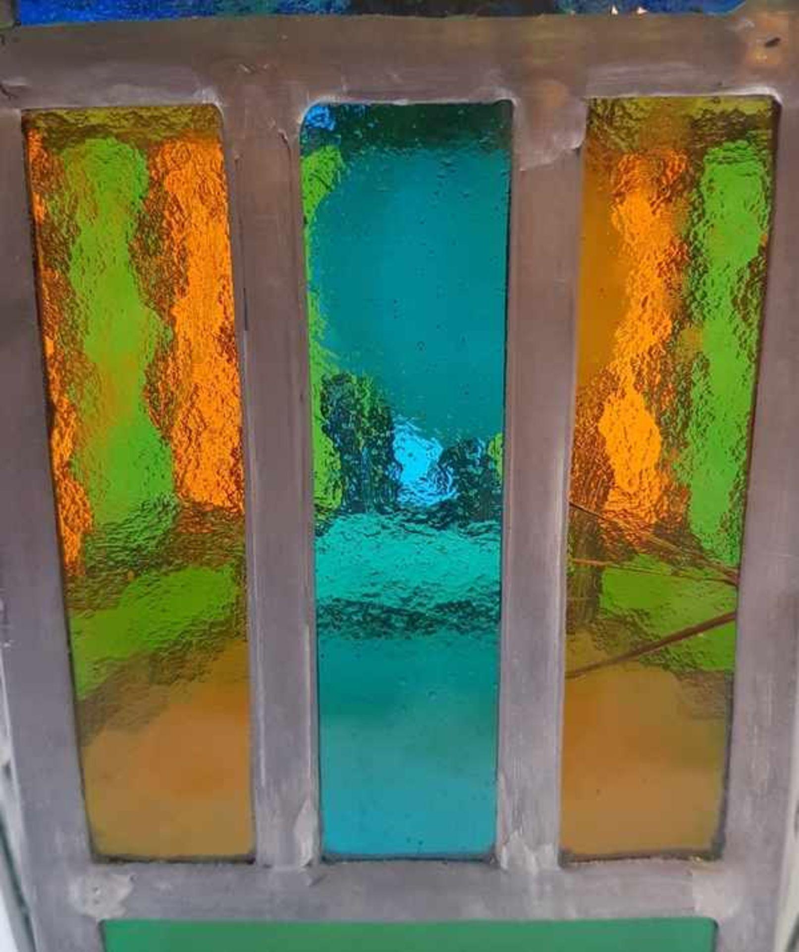 (Curiosa) Lamp glas in lood - Bild 3 aus 6