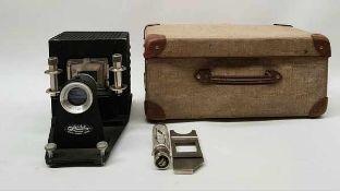 (Curiosa) Splendolux diaprojector in kofferSplendolux Diaprojector met orginele koffer jaren '60.