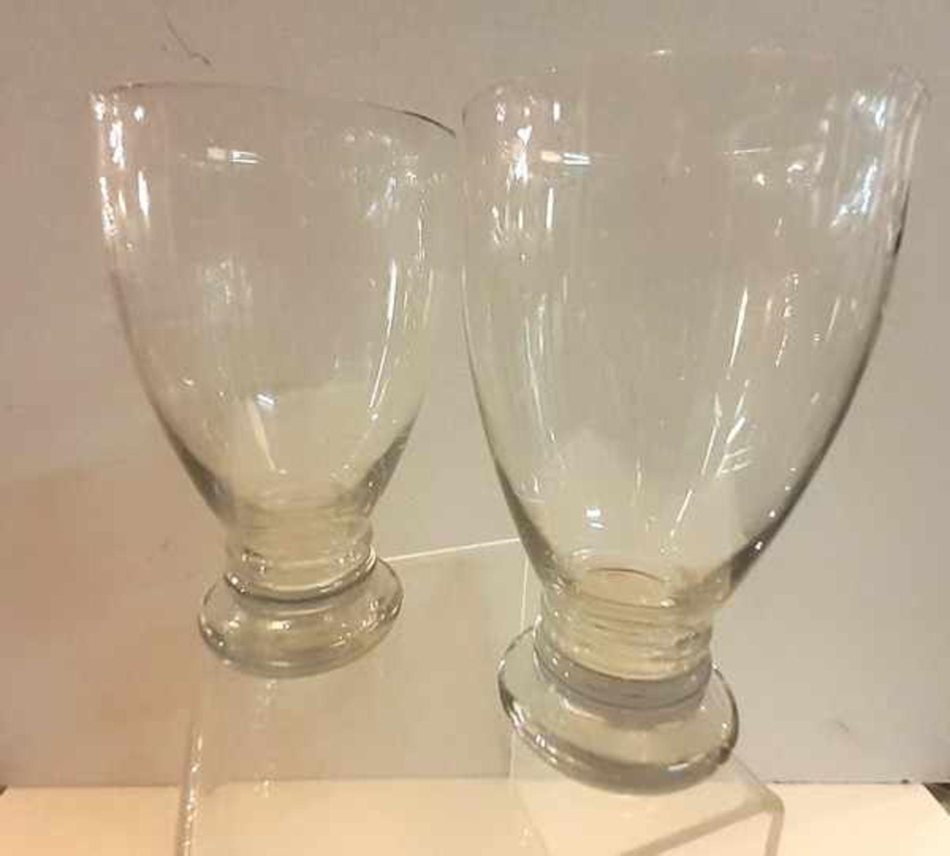 Los 289 - (Toegpaste kunst) Glazen jaarbekers, A.D. Copier Leerdam