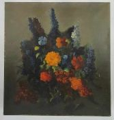 (Kunst) Schilderij, olieverf op doek, J. Tepe