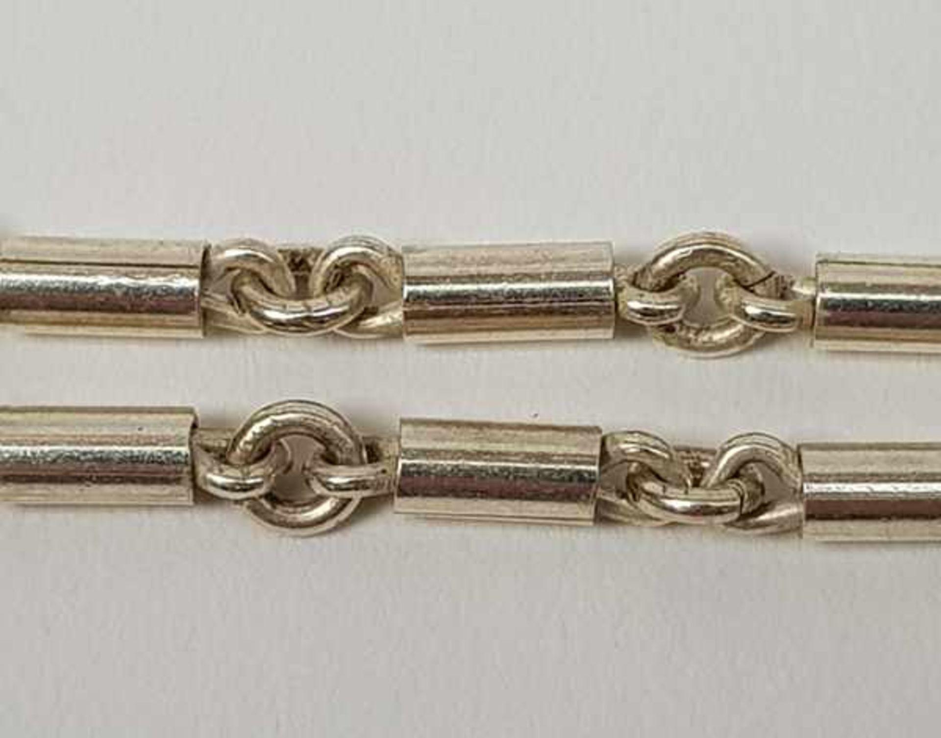 (Sieraden) Zilver + emaille. Armband en halsketting. o.a. Mexico - Image 7 of 7
