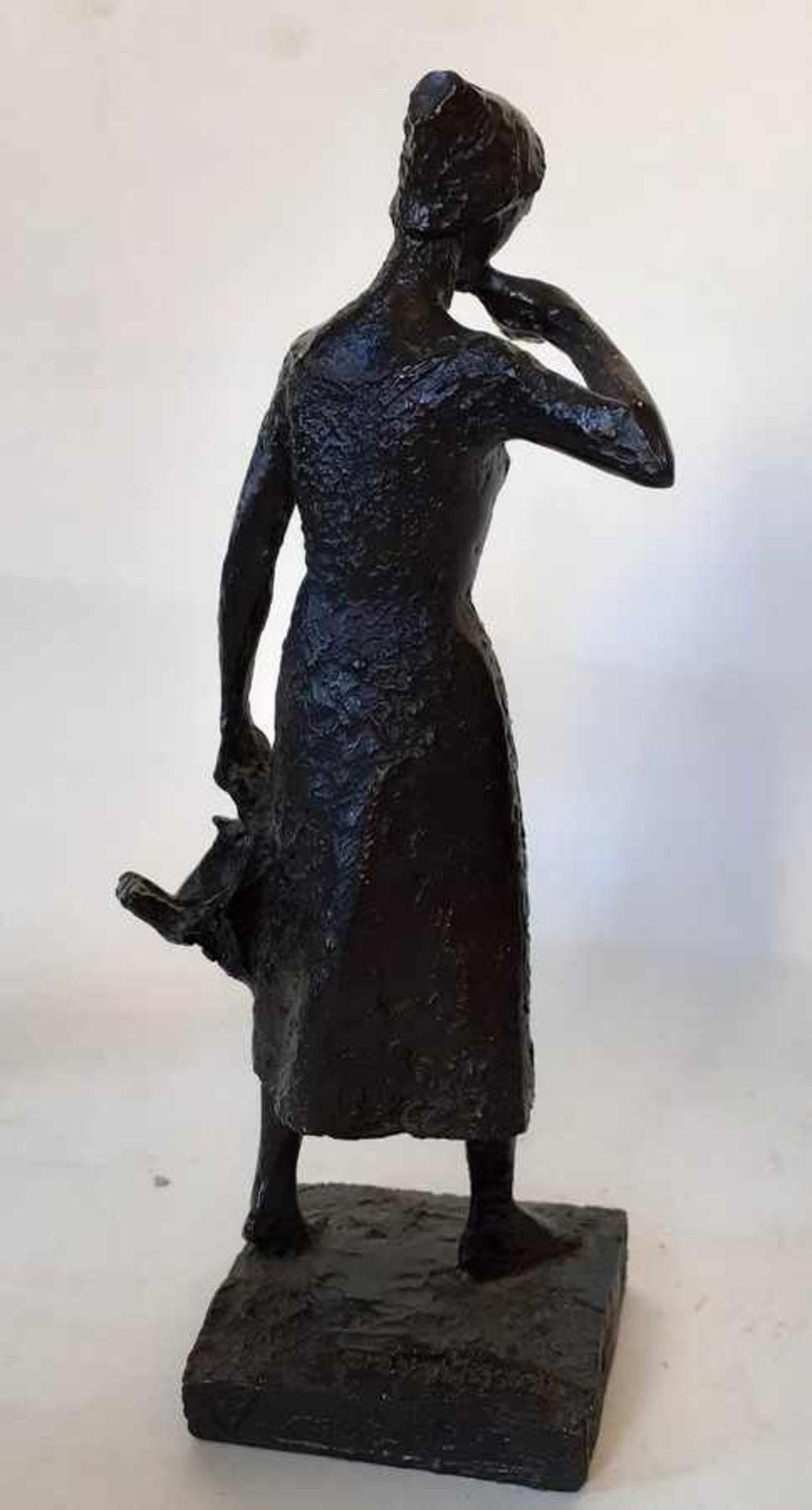 (Kunst) Gebronst epoxy beeld, Tummers-Van Hasselt - Image 5 of 5