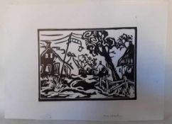 (Kunst) Linosnede, Arie Zuidersma