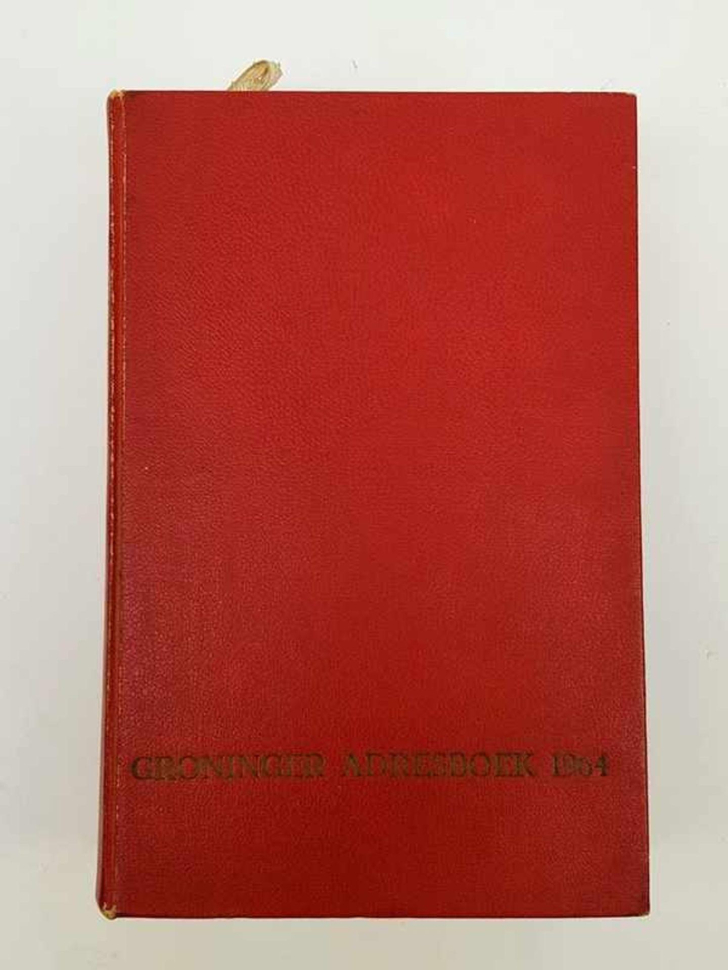 (Boeken) Groninger adresboek 1964