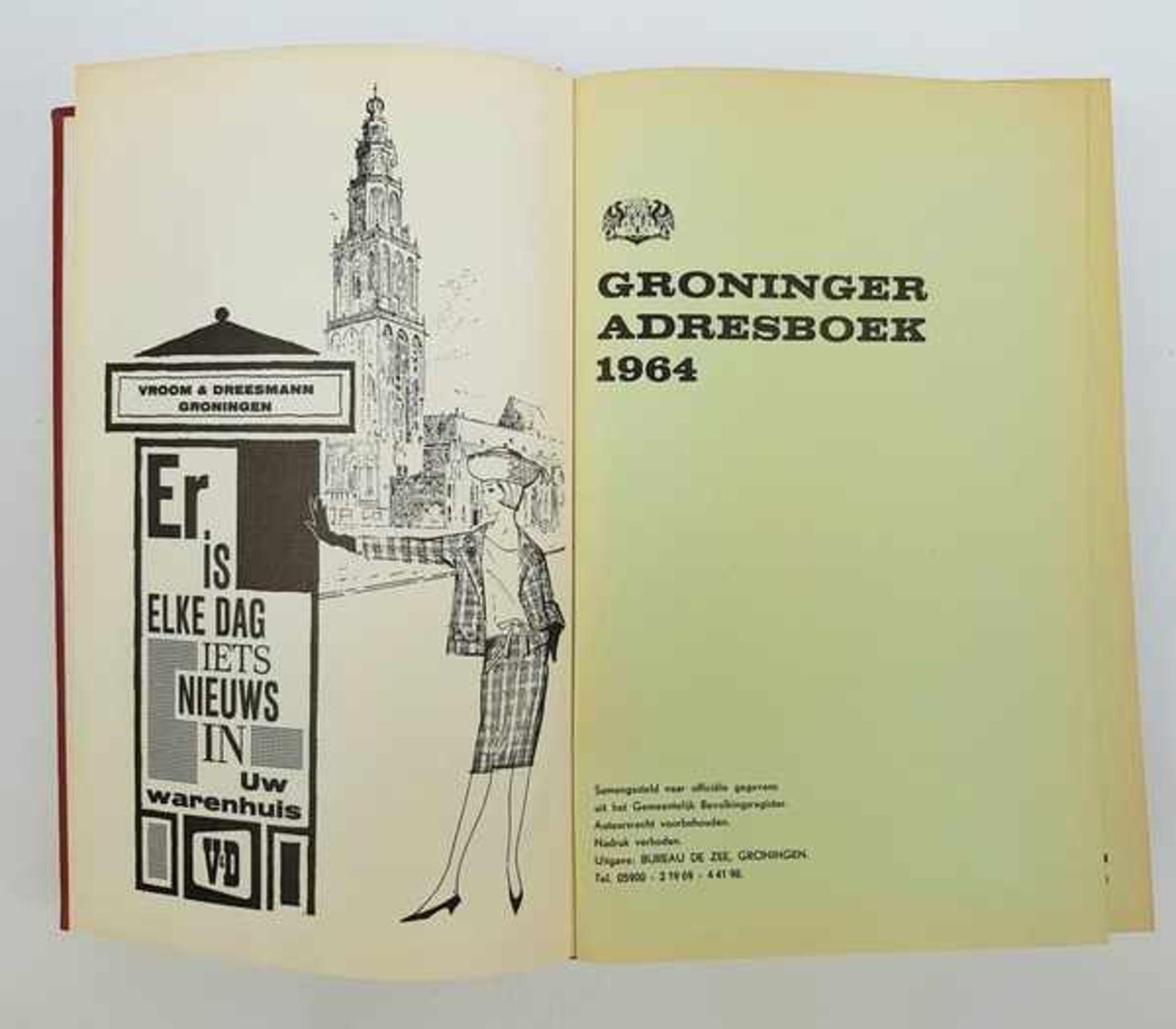 (Boeken) Groninger adresboek 1964 - Bild 5 aus 6