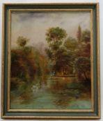 (Kunst) Schilderij, olieverf op doek, Van Wyck